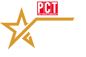 Rising Star Award White Letters